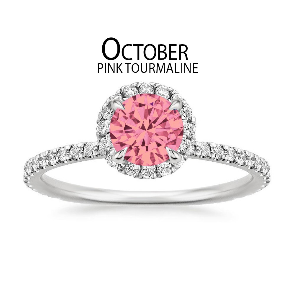 Birthstone Engagement Rings for October